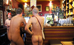 nudist bar