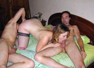 Teen creampie party