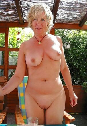 Mature nudist couple